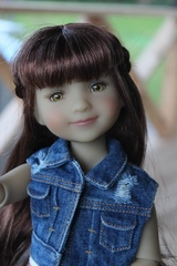 Шарнирная куколка Бэлла, Руби Ред 37 см