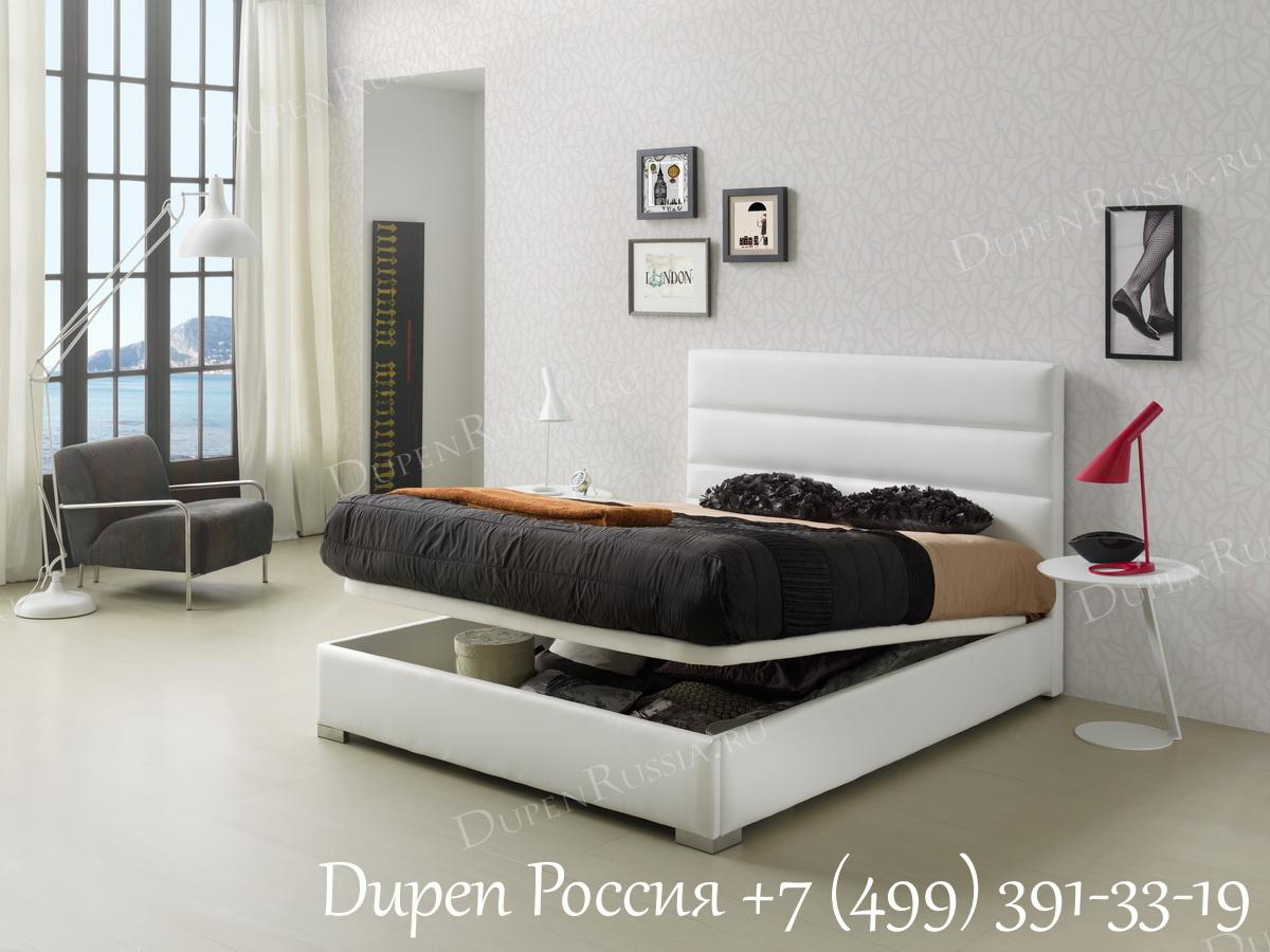 Торшер LF-12002WH White и Кровать Dupen 734 LIDIA
