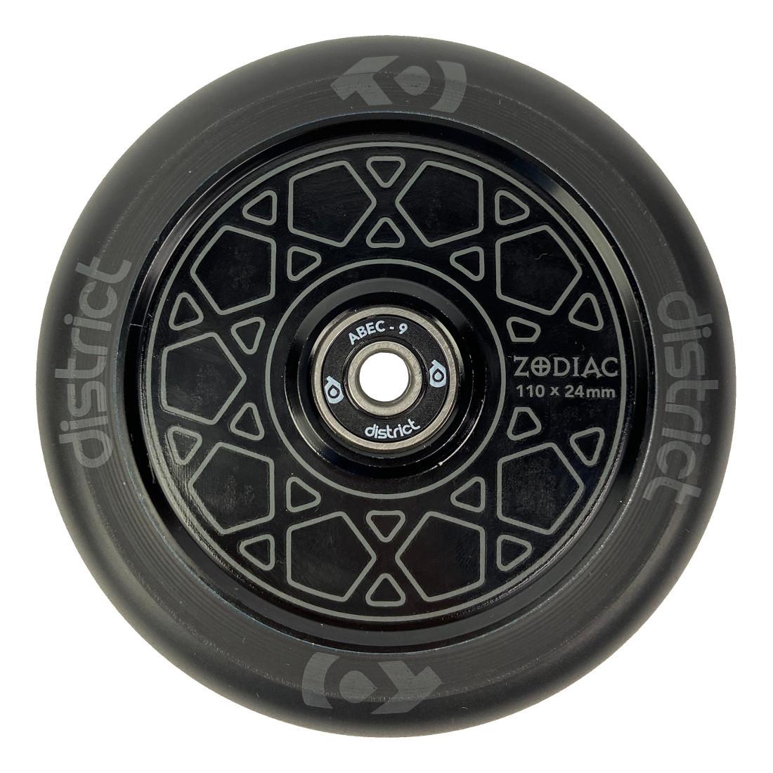 Колесо для самоката DISTRICT Zodiac (Black/Black)