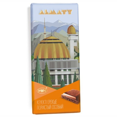 Шоколад ALMATY Особый пористый 90 г Рахат КАЗАХСТАН