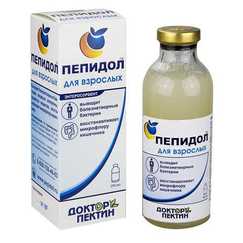 Пепидол  ПЭГ (5% р-р), 250 мл. (Элюсан)