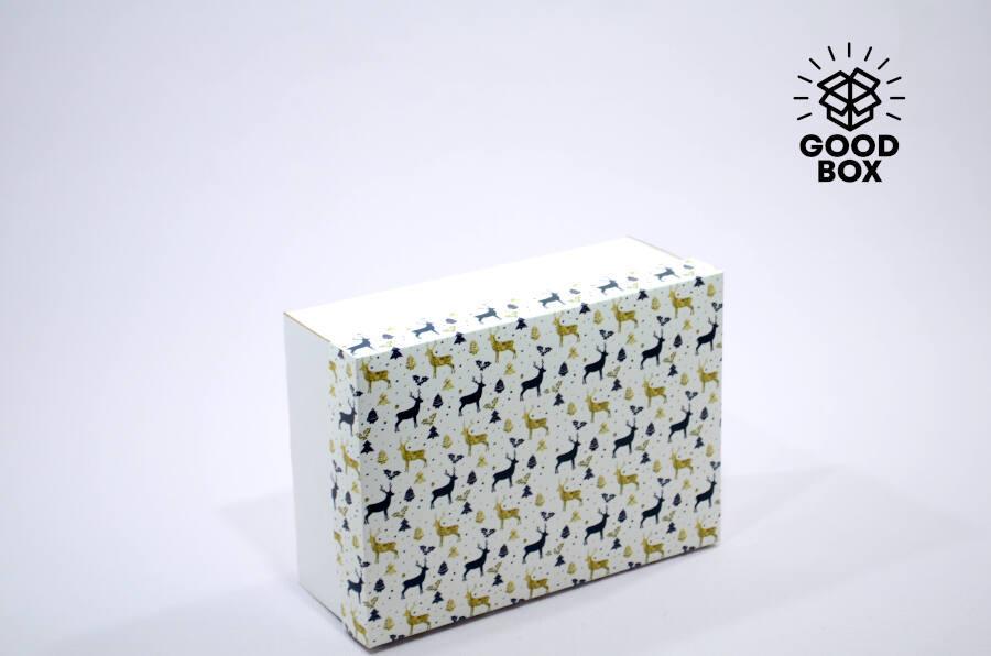 Новогодняя подарочная коробка Аляска купить с доставкой по Казахстану