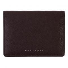 Чехол для карточек Hugo Boss Storyline Burgundy