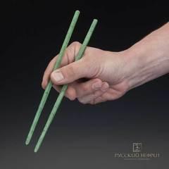 Палочки для еды из зеленого нефрита 230мм