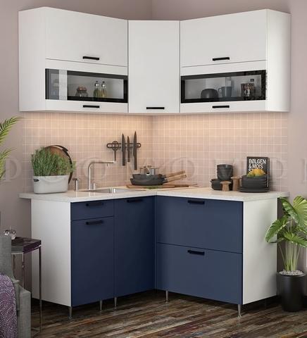 Кухня Угловая Техно NEW 1,4-1,4 м №6