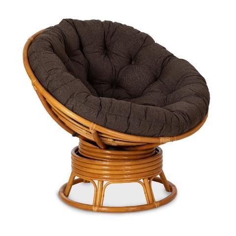 Кресло механическое PAPASAN, 23/01В К (подушка ткань триплированная 37-7(147) цвет коричневый)