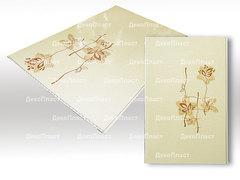 Панель ПВХ ДекоПласт коллекция Элеганс Орхидея розовая