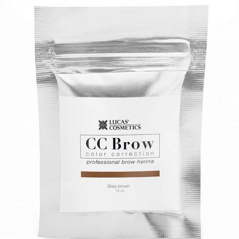 Хна для бровей CC Brow (grey brown) в саше (серо-коричневый), 5 гр