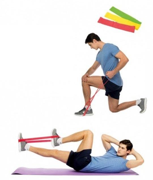 Спорт/Фитнес/Похудение Набор резиновые петли (3 шт.) lenta.jpg