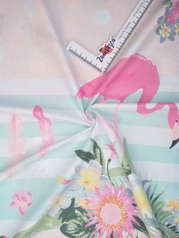 Премиум ранфорс Фламинго
