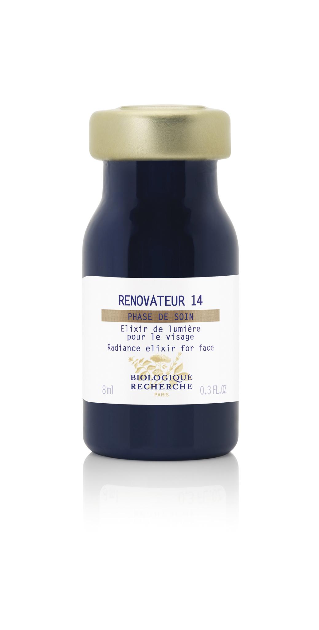 Фитобиокомплекс для сияния кожи лица BIOLOGIQUE RECHERCHE Renovateur 14 8 мл