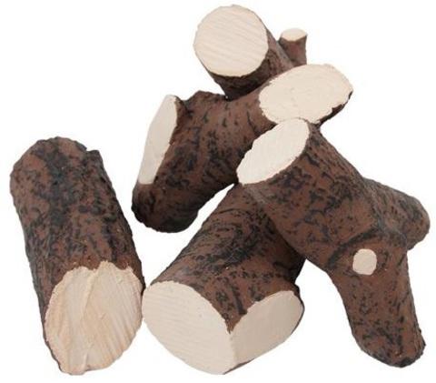 Декоративные дрова для биокамина Дуб (набор 5 шт.)