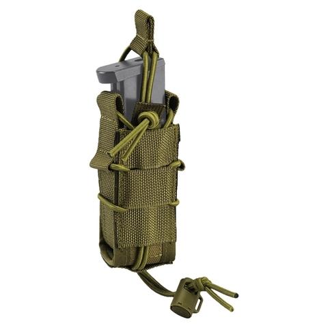 Defcon 5 Pistolen Magazintasche Shadow Laser Cut oliv