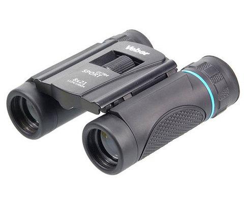 Бинокль Veber Sport Ultra БН 8x21 black