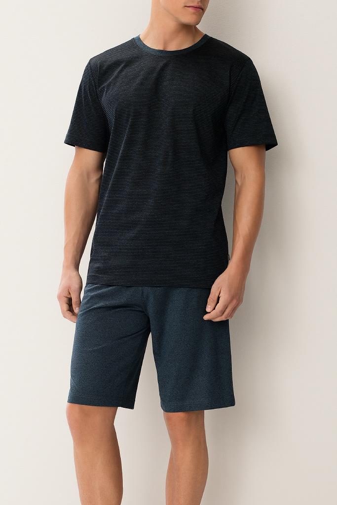 Эксклюзивная мужская пижама с шортами Zimmerli