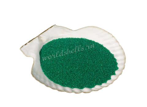 Изумрудный цветной песок 300 гр.