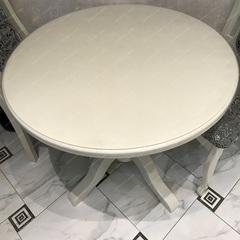 Скатерть круглая матовая 115 х 115 см