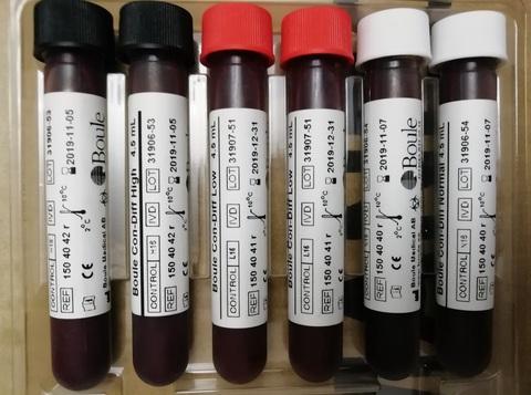 Кровь Боуль Boule Con-Diff High (гематологический контроль 16 параметров) 1фл*4,5 мл Boule Medical A.B., Швеция