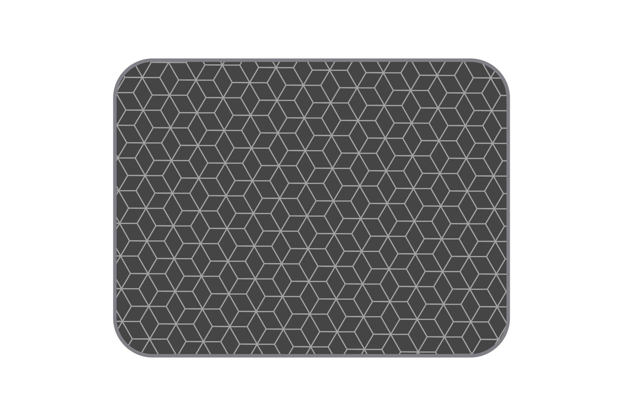 Плюшевый коврик Tetrix 120х160 см