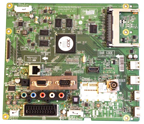EAX64349207(1.4) EBR75299602 mainboard телевизора LG
