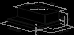 Вытяжка Maunfeld VS (C) 60 нержавейка - схема