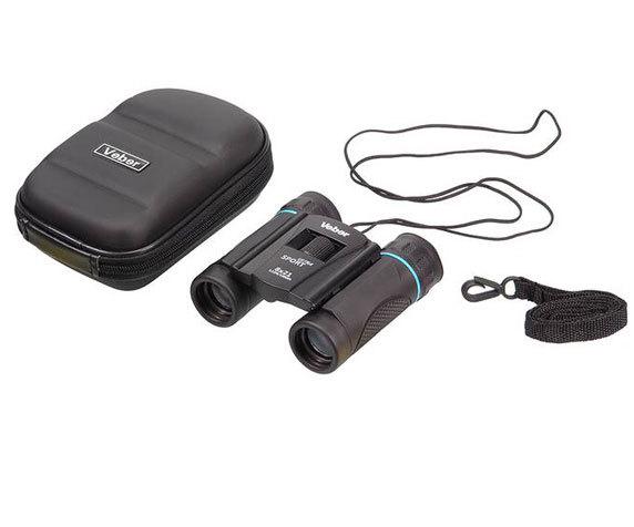Комплект поставки бинокля Veber Sport Ultra 8x21