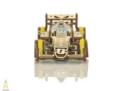 Болид от Wooden City - деревянный конструкторы, 3D пазл, сборная модель