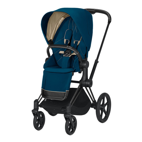 Прогулочная коляска Cybex Priam III Mountain Blue Matt Black