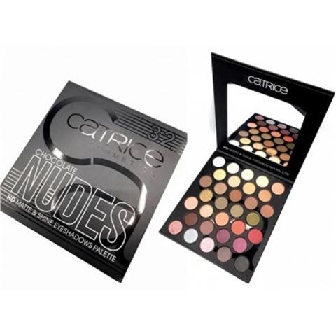 Палетка теней Catrice Cosmetics Chocolate Nudes (32 цвета)