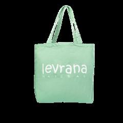 Эко-сумка зелёная   40x40 см   Levrana