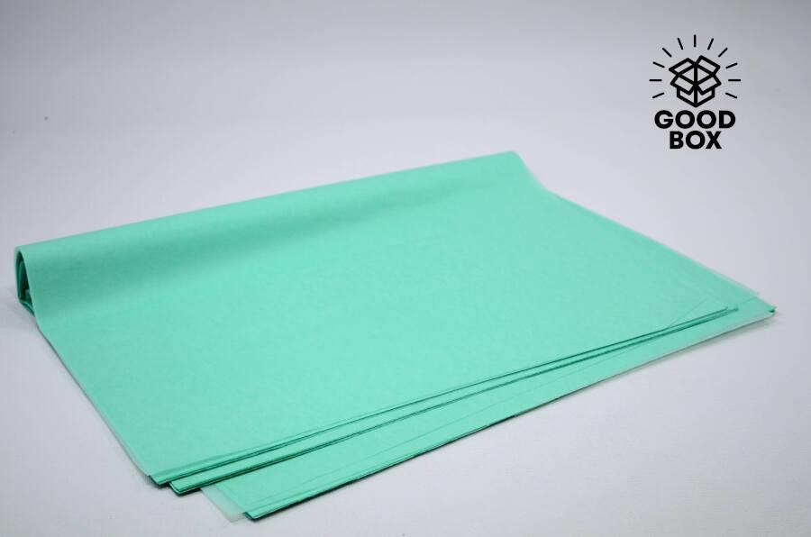 Бумага тишью зеленая купить в Алматы