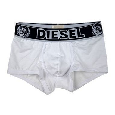 Мужские трусы боксеры белые Diesel Only the Brave White Boxer