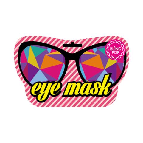 Расслабляющая и увлажняющая маска-очки Bling Pop с коллагеном и растительными экстрактами 10 мл