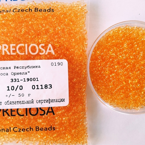01183 Preciosa 10/0 50грамм (1 сорт)