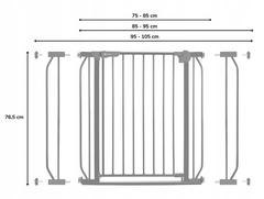 Ворота безопасности Lionelo LO-Truus Slim White