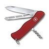 Нож Victorinox Cheese Knife, 111 мм, 6 функций, красный