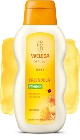 Weleda, Масло с календулой для младенцев с нежным ароматом, 200мл