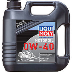 2261 LiquiMoly Синт.мот.маслод/снегох. Snowmobil Motoroil 0W-40 SM/CF;A3/B3 (4л)
