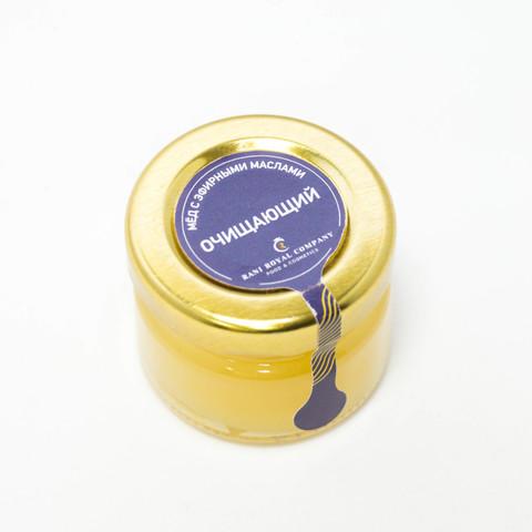 Мёд с эфирными маслами «Очищающий» 30 г
