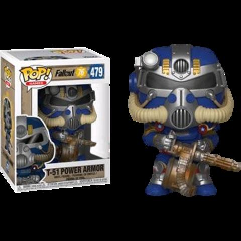 Фигурка Funko Pop! Games: Fallout 76 - T-51 Power Armor (Excl. to Walmart)