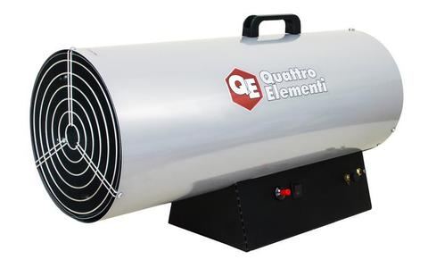 Нагреватель воздуха газовый QUATTRO ELEMENTI QE-55G (25 - 55кВт, 1100 м.куб/ч,  4,2 л/ч, 1 (243-967)