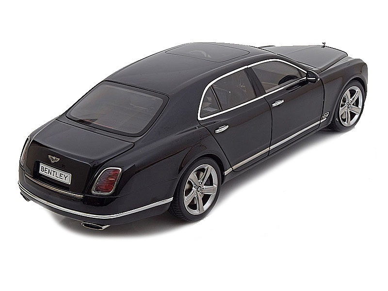 Коллекционная модель Bentley Mulsanne Speed 2014