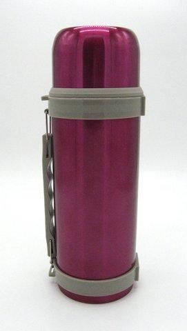 Термос Indiana H039 с кнопкой 1,6 л (розовый)