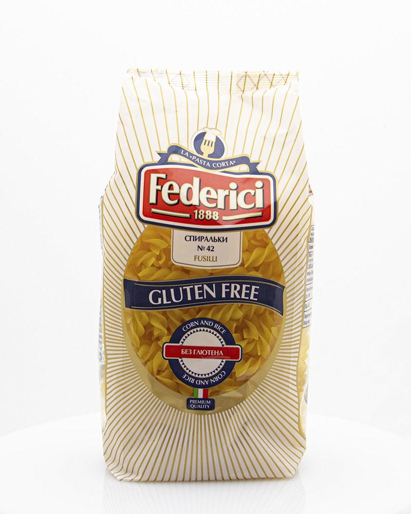 Макаронные изделия Federici Безглютеновые Спиральки 400 гр.