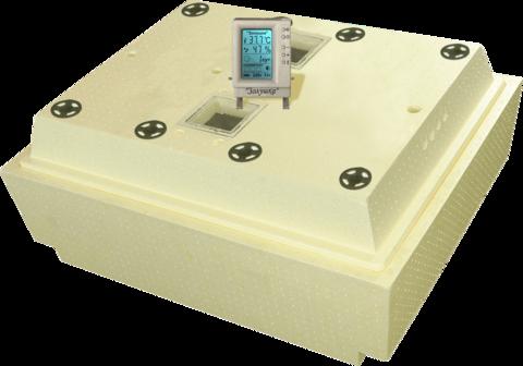 Инкубатор Золушка 100 яиц ручной переворот с цифровым терморегулятором с ЖК эураном