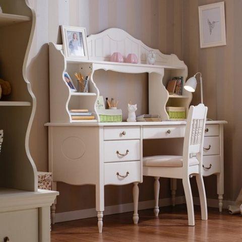 Письменный стол белый Айно 3