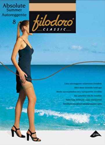 Чулки Filodoro Classic Absolute Summer Auto 8