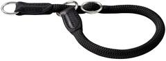 Ошейник-удавка для собак Hunter Freestyle 35/8 круглый нейлон черный