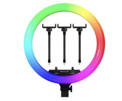 Кольцевая лампа 45 см со штативом и пультом ДУ Ring Fill Light LED MJ18 RGB