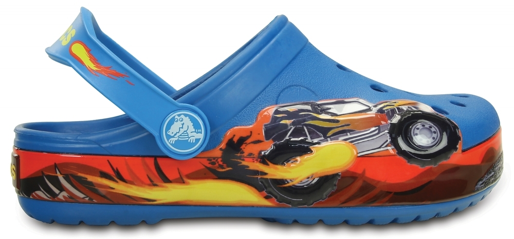 Сабо для мальчиков CROCS Monster Truck Clog Kids Ultramarine